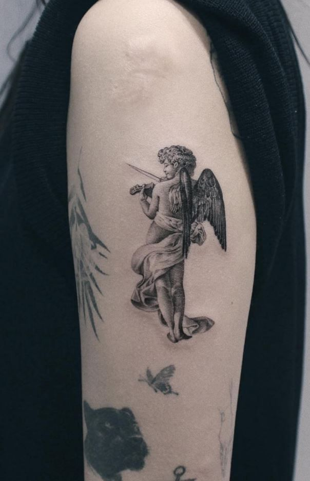 100+ Insanely Crazy Black & Gray Tattoos That Are Truly Inspiring - TheTatt