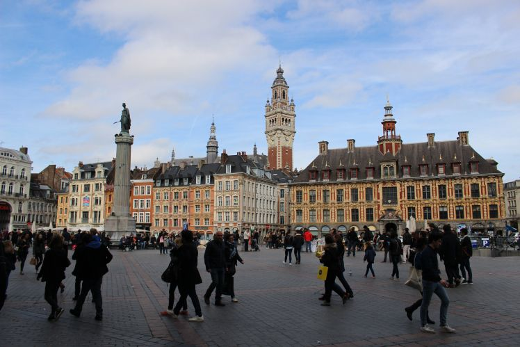 The Grand Place of Lille.