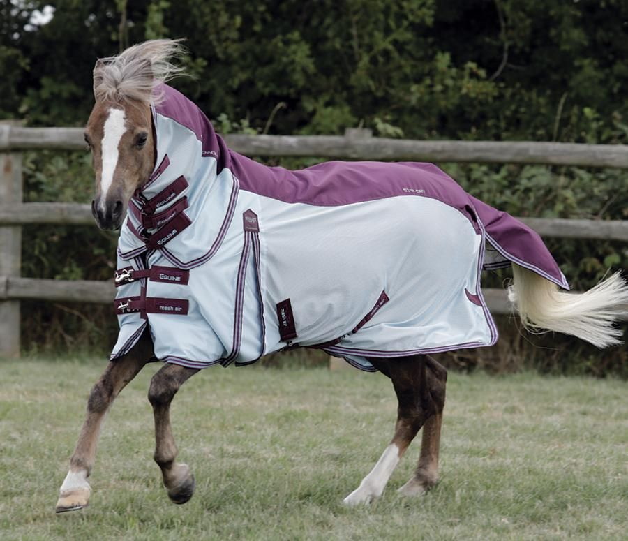 Pony Stay Dry Mesh Air Fly Rug With