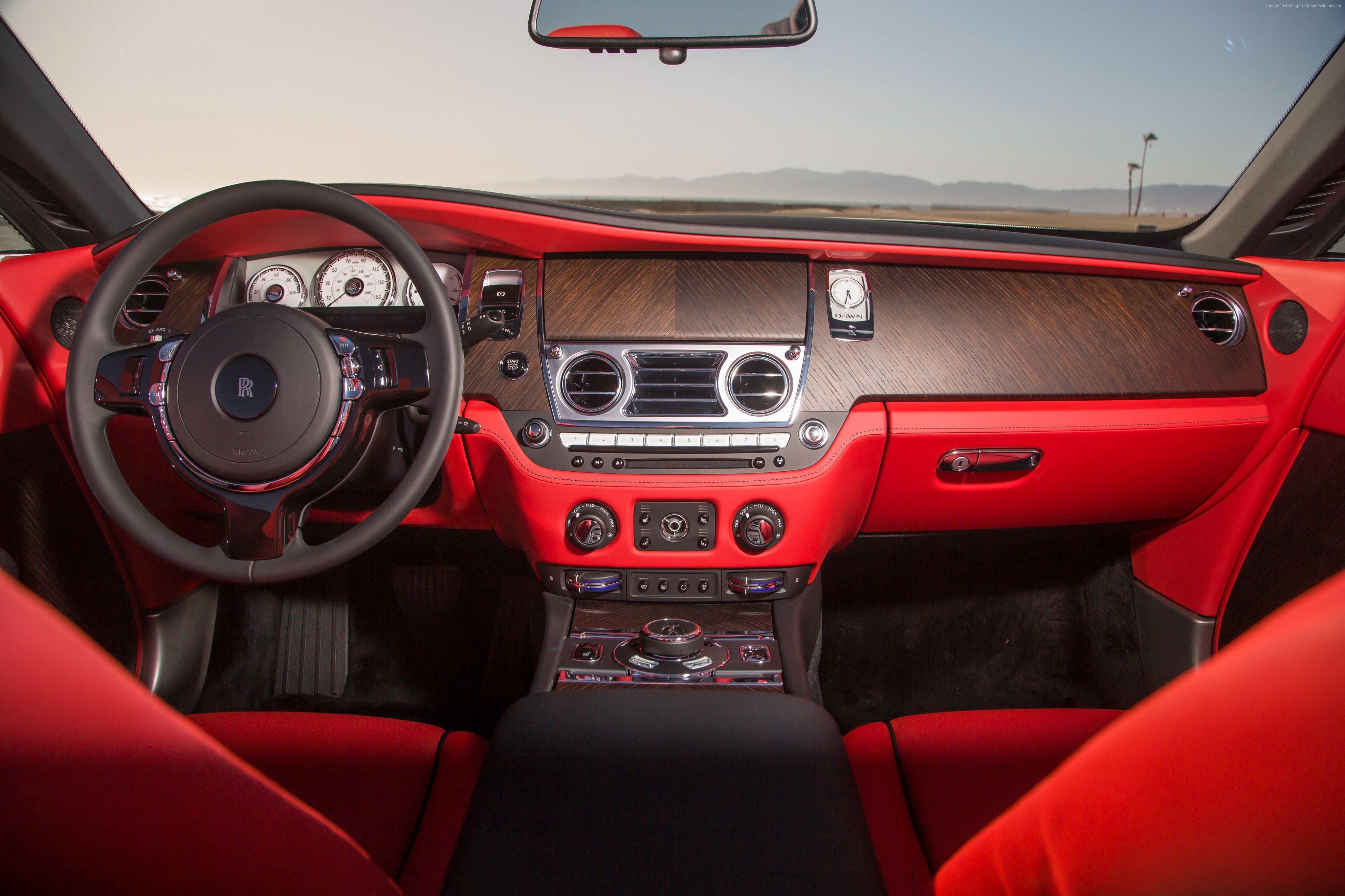 Rolls-Royce Dawn, luxury cars, interior – Classic Cars & Bikes –  Wallpapers HD …