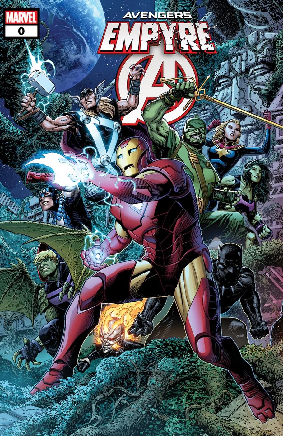 Empyre 0 Avengers Jim Cheung In 2020 Marvel Comics Avengers Marvel