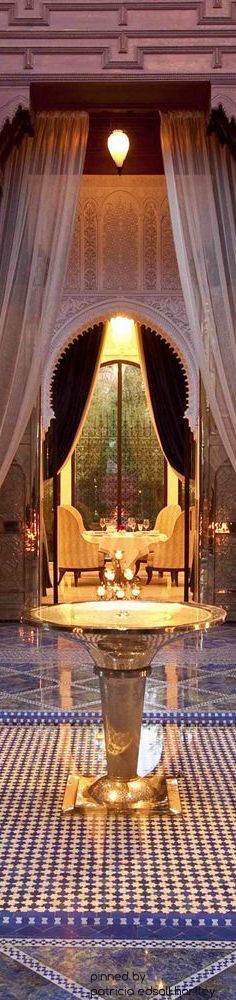 royal mansour marrakech house of beccaria bassins brunnen becken pools pinterest. Black Bedroom Furniture Sets. Home Design Ideas