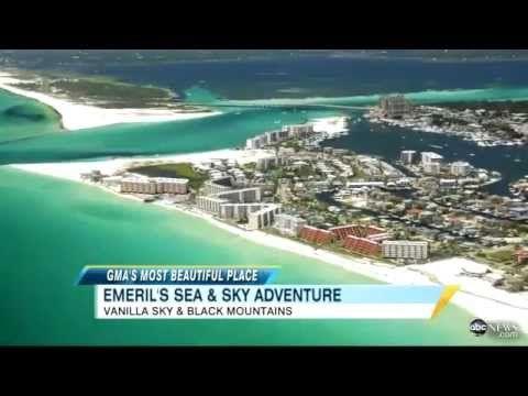 'GMA' Most Beautiful Places- Destin, Fla., Asheville, N.C. - Video - ABC News.mp4 - YouTube