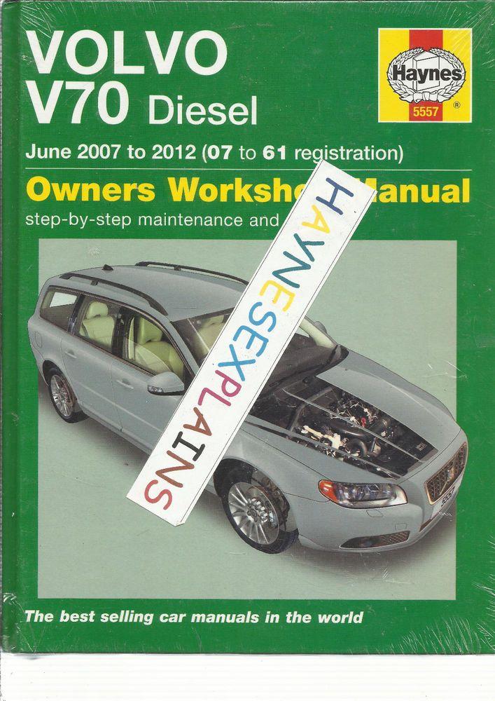 haynes new sealed volvo v70 estate 4 5 cyl turbo diesel workshop rh pinterest co uk Cougar Workshop Manual Chilton Repair Manual