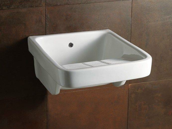 Pilozza Ceramica Con Mobile.Laundry 50x60 Utility Sink Laundry Collection By Alice Ceramica