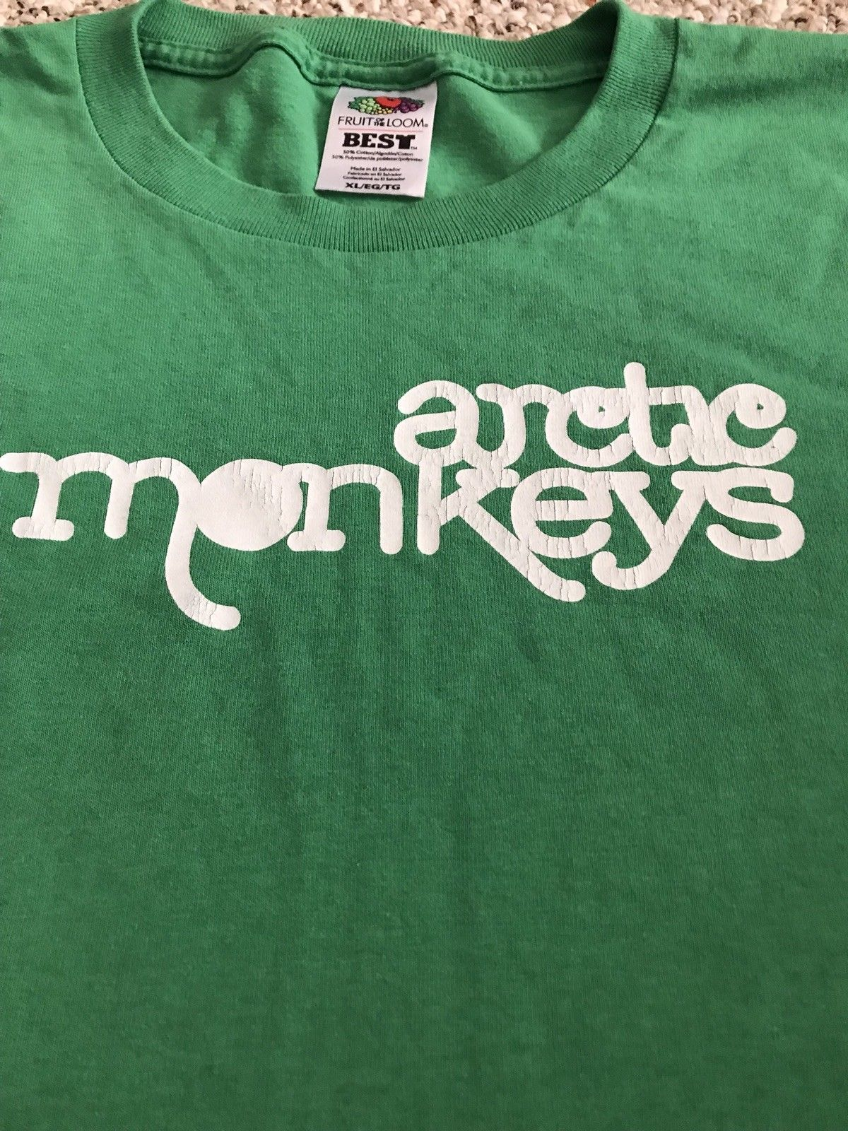 ae97ebada Arctic Monkeys 2006 XL Tour Shirt , Vintage in 2019 | Arctic Monkeys ...