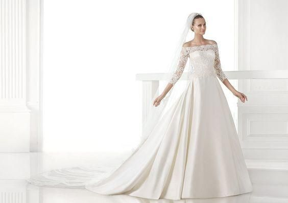 pronovias 'celandia' - pronovias - nearly newlywed bridal boutique