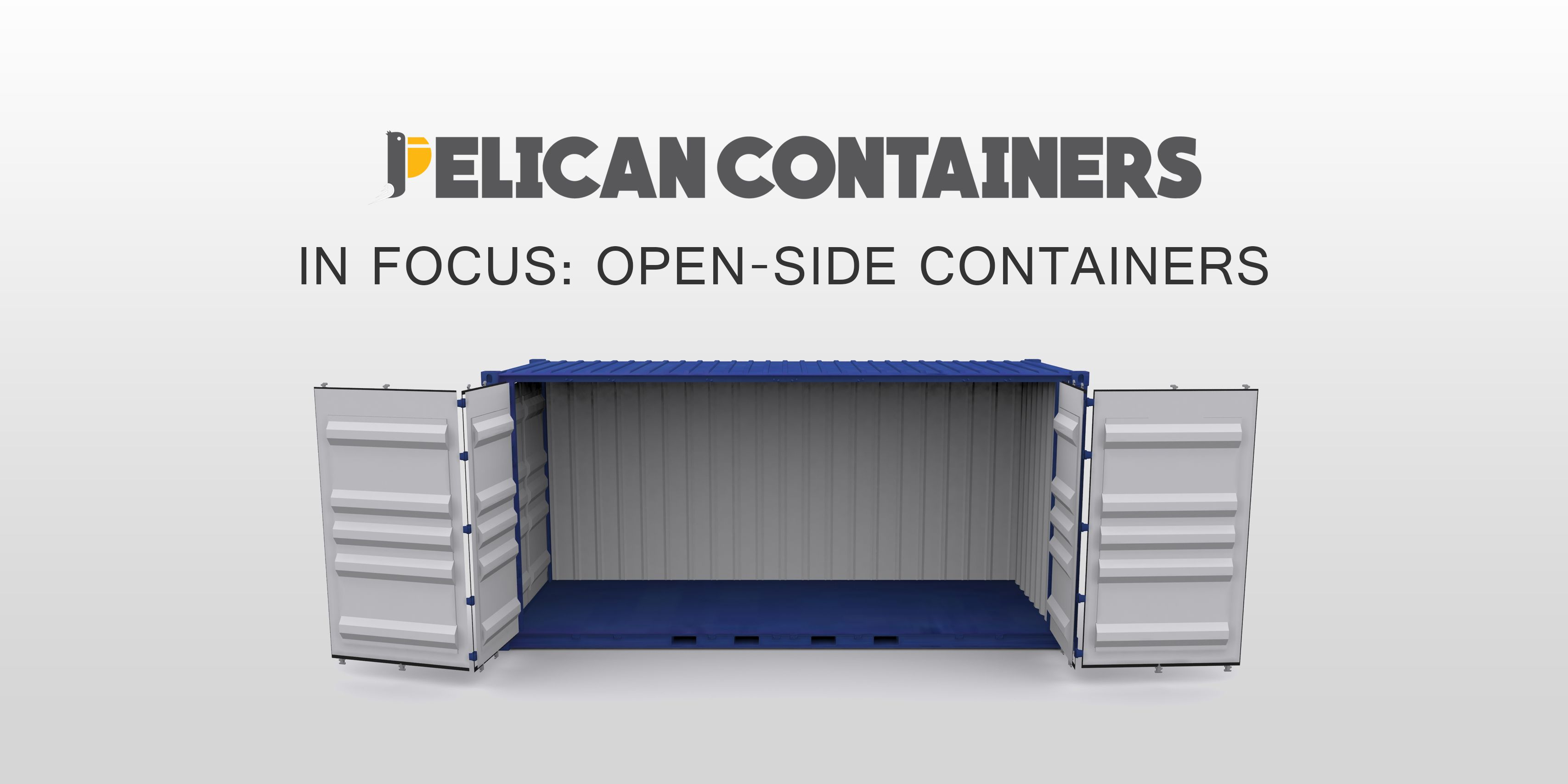 In Focus Open Side Shipping Containers In 2020 Shipping Container Shipping Containers For Sale Buy Shipping Container