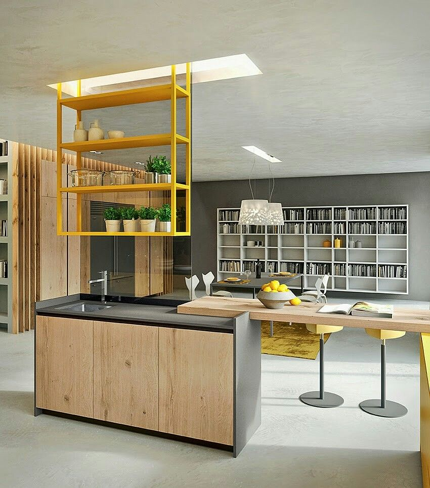 Loft Style Kitchen Design By Michele Marcon: Pin By Made Concepts On Kitchen Design
