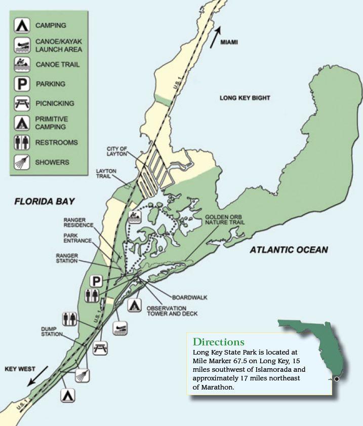 Long Key State Park Randonnee Peche Ou Kayak Sur Une Ile De