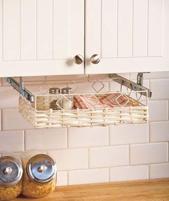 Under Cabinet Storage Basket
