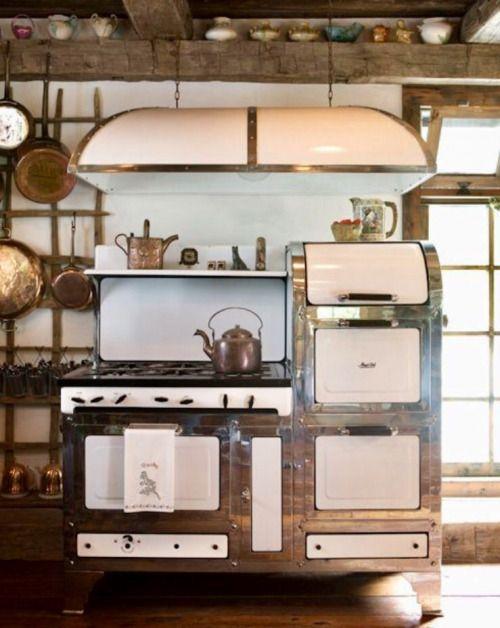 Was für ein Schmuckstück in der Küche | HERDE KAMINE KACHELOFEN OFEN ...