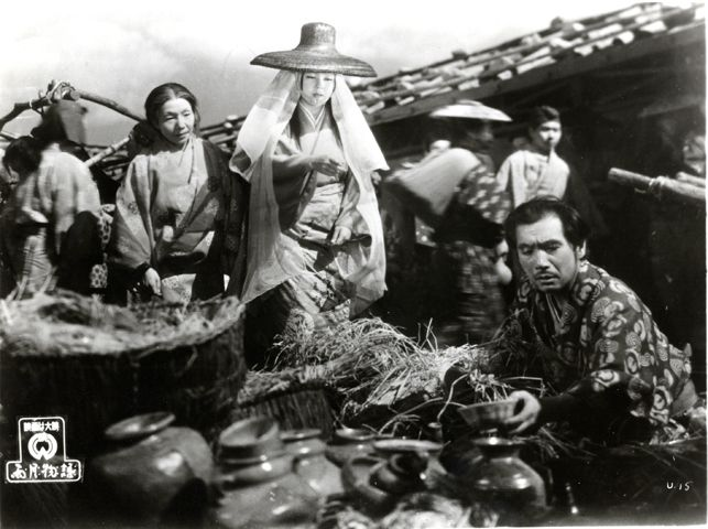 Ugetsu. 1953. Japan. Directed by Kenji Mizoguchi    Genjuro, the potter who is the central character in Kenji Mizoguchi's Ugetsu, is less concerned with artistic perfection than with the sale of his pots, extolling the virtues of financial success like some 16th-century Mitt Romney.