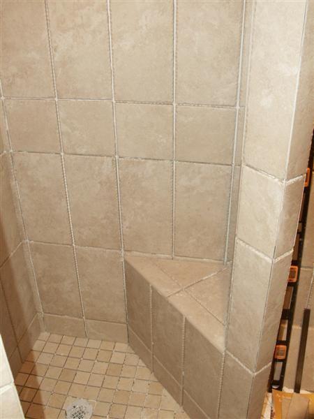 Bluestone Shower Bench - Masonry - Contractor Talk | Concrete ...