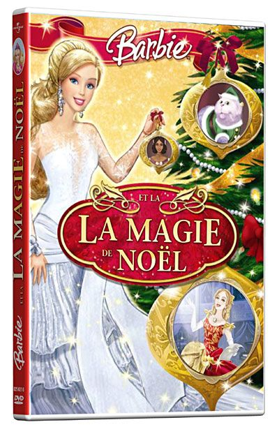 Barbie Et La Magie De Noel : barbie, magie, Barbie,, Magie, Noël, Christmas, Ornaments,, Novelty, Christmas,, Holiday