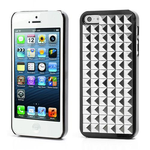 Köp Nitskal iPhone 5 5S Block svart silver online  http   www ... 97a23df7529a9
