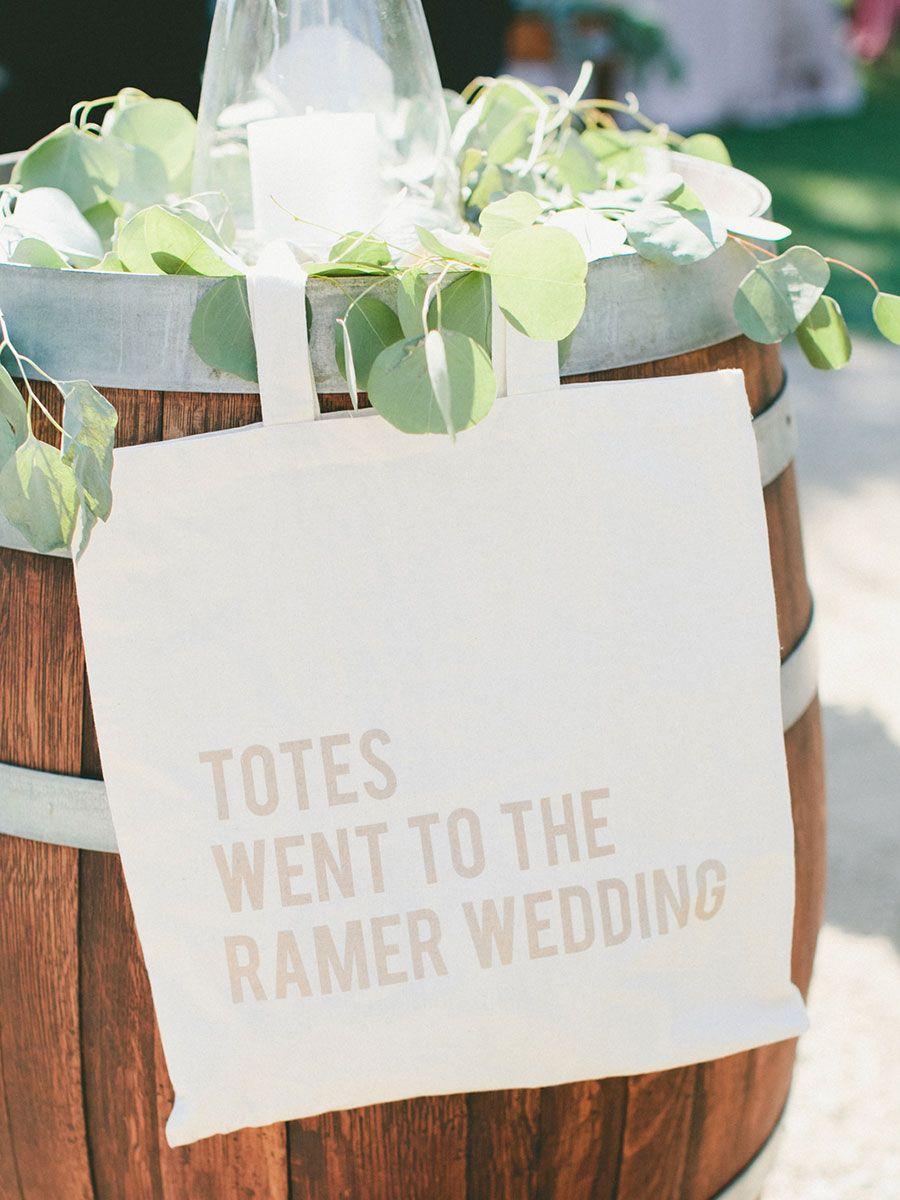 Our Favorite Wedding Welcome Bag Ideas | Bag, Weddings and Wedding