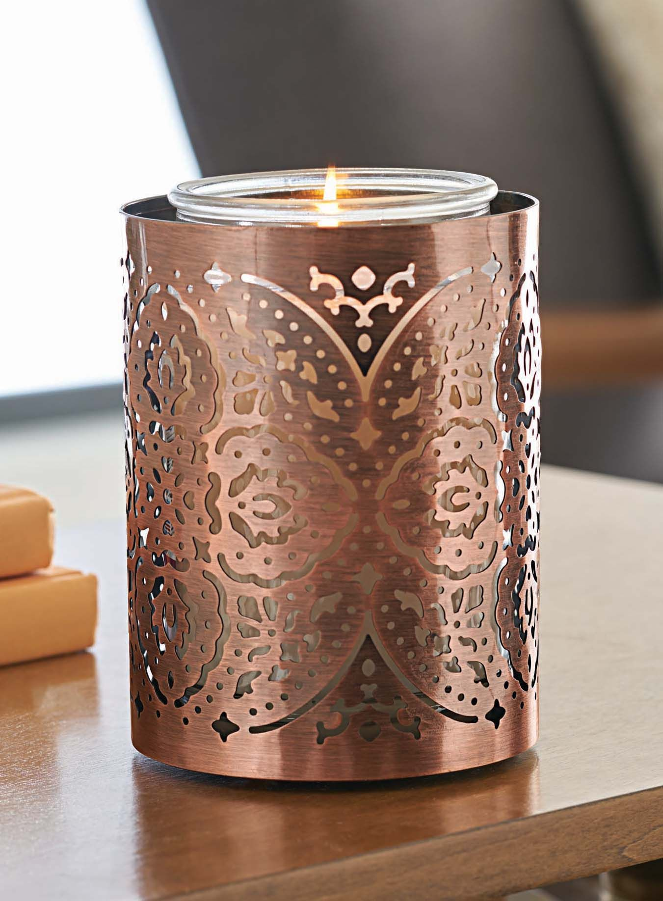 Moroccan Metal Candle Sleeve   Trend: Global & Chic in 2019