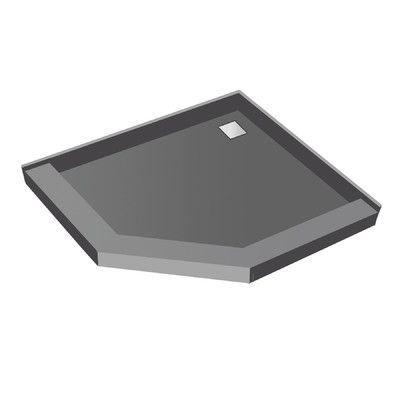 Tile Redi 5 75 H X 38 W X 38 D Neo Angle Triple Threshold