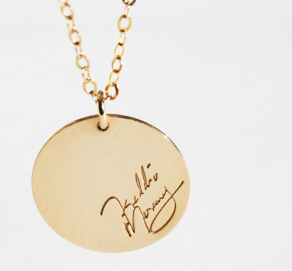 Freddie Mercury Signed disque dor