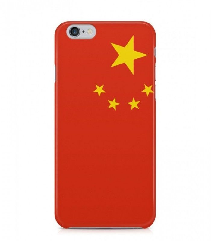 Chinese Flag 3d Iphone Case For Iphone 3g 4 4g 4s 5 5s 6 6s 6s Plus Flag Cn Favcases