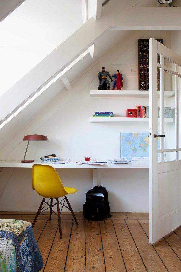 Dachschräge einrichten » Stauraum und Gestaltung   OTTO,  #Dachschräge #diseñodedormitorio #e…