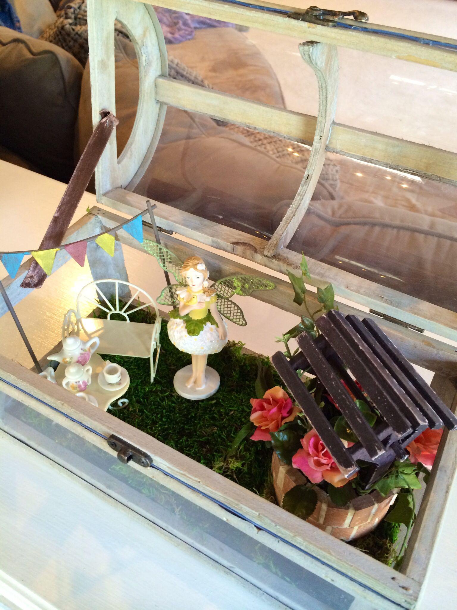 Pinner's Note: Whimsical Fairy Garden Tea Party Box