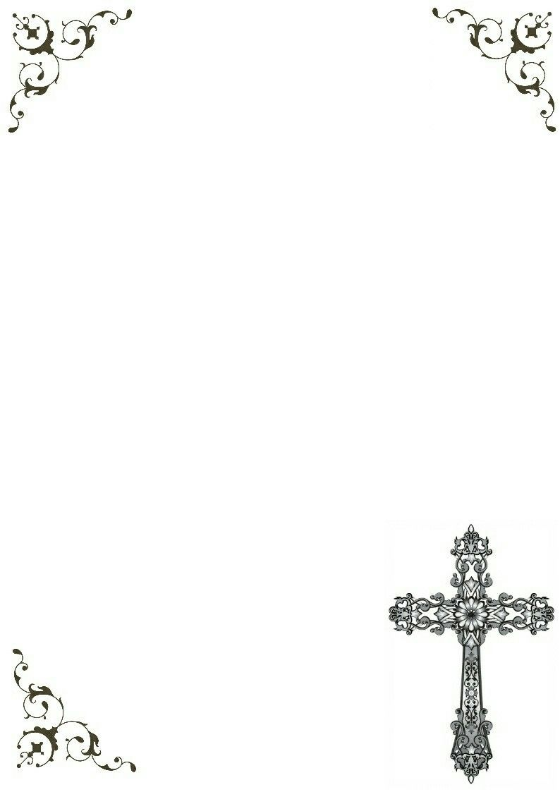 Beautiful Printable Cross Frame | Christian | Pinterest | Clip art ...