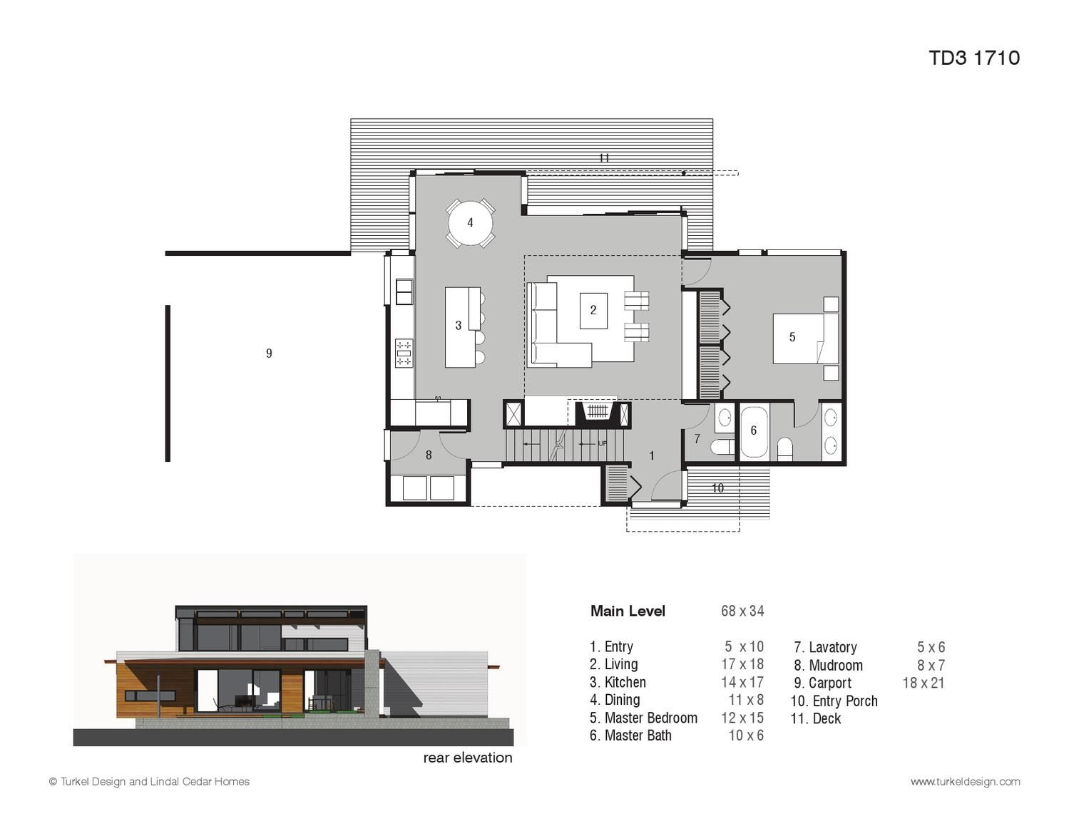Turkel Design Plan Library House