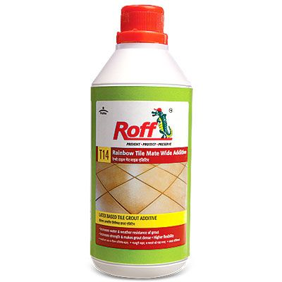 Roff Rainbow Tile Mate Wide Additive Is A Liquid To Be Used With Fine