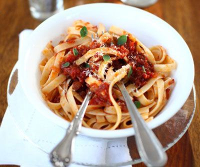 Fall Lamb Ragù :: I use wild boar and it's a favorite fall/winter meal at my house.