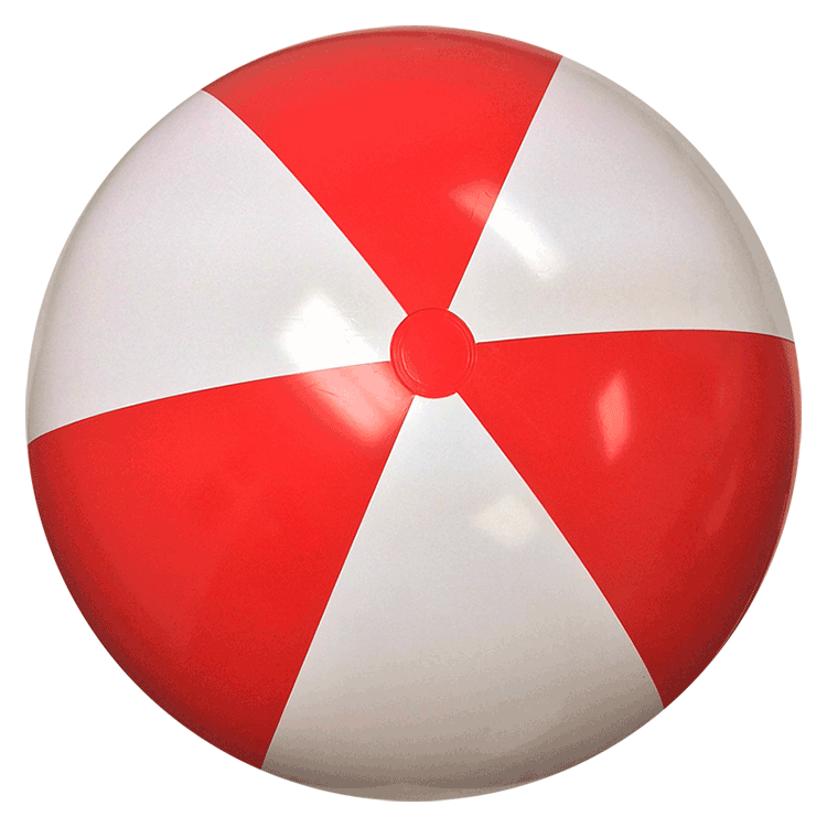 404 Page Not Found Beach Ball Red And White Christmas Bulbs