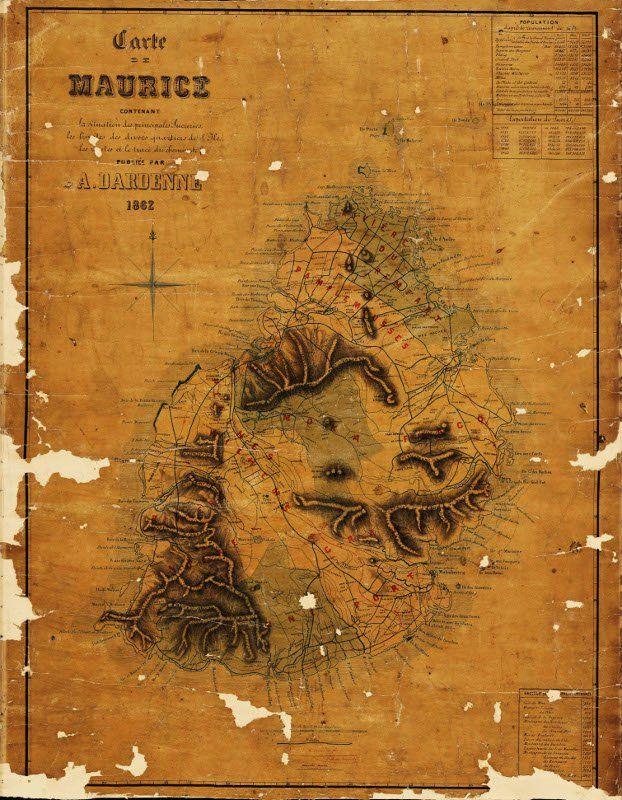 carte Descubes Recherche Google Mauritius, Cartography