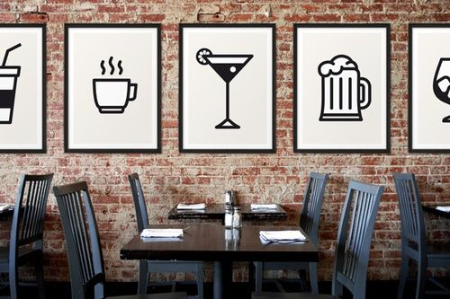 Nice idea for a resturaunt design layout