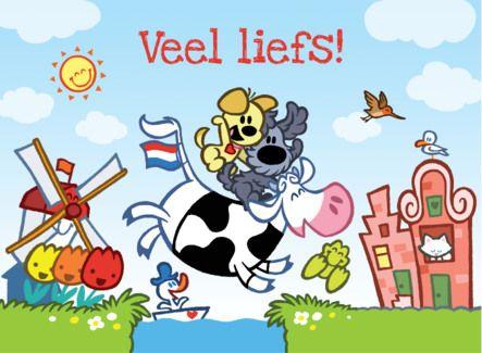 gefeliciteerd kaart holland