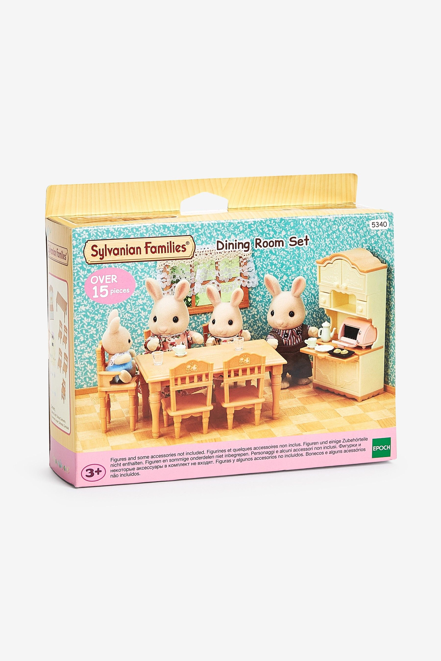Girls Sylvanian Families Dining Room Set Family Dining Rooms