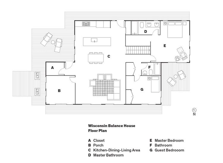 Dwell prefab home plans for Dwell floor plans