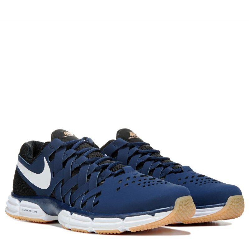 afc5d77a1c7b Nike Mens Lunar Fingertrap TR Training Shoes (Navy Gum)