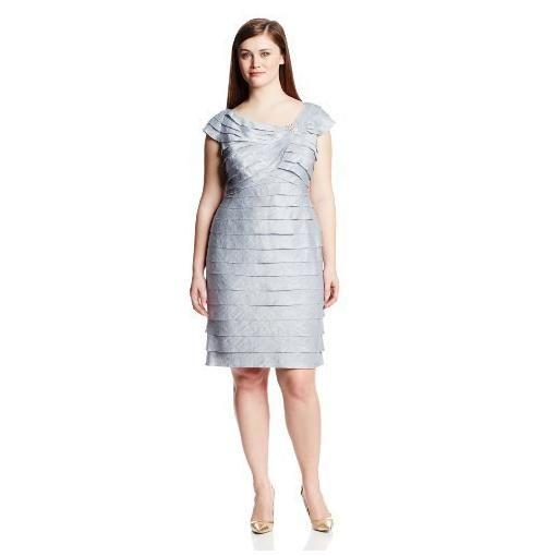 London Times Plus Size Shutter Dress My Fashion Dresses