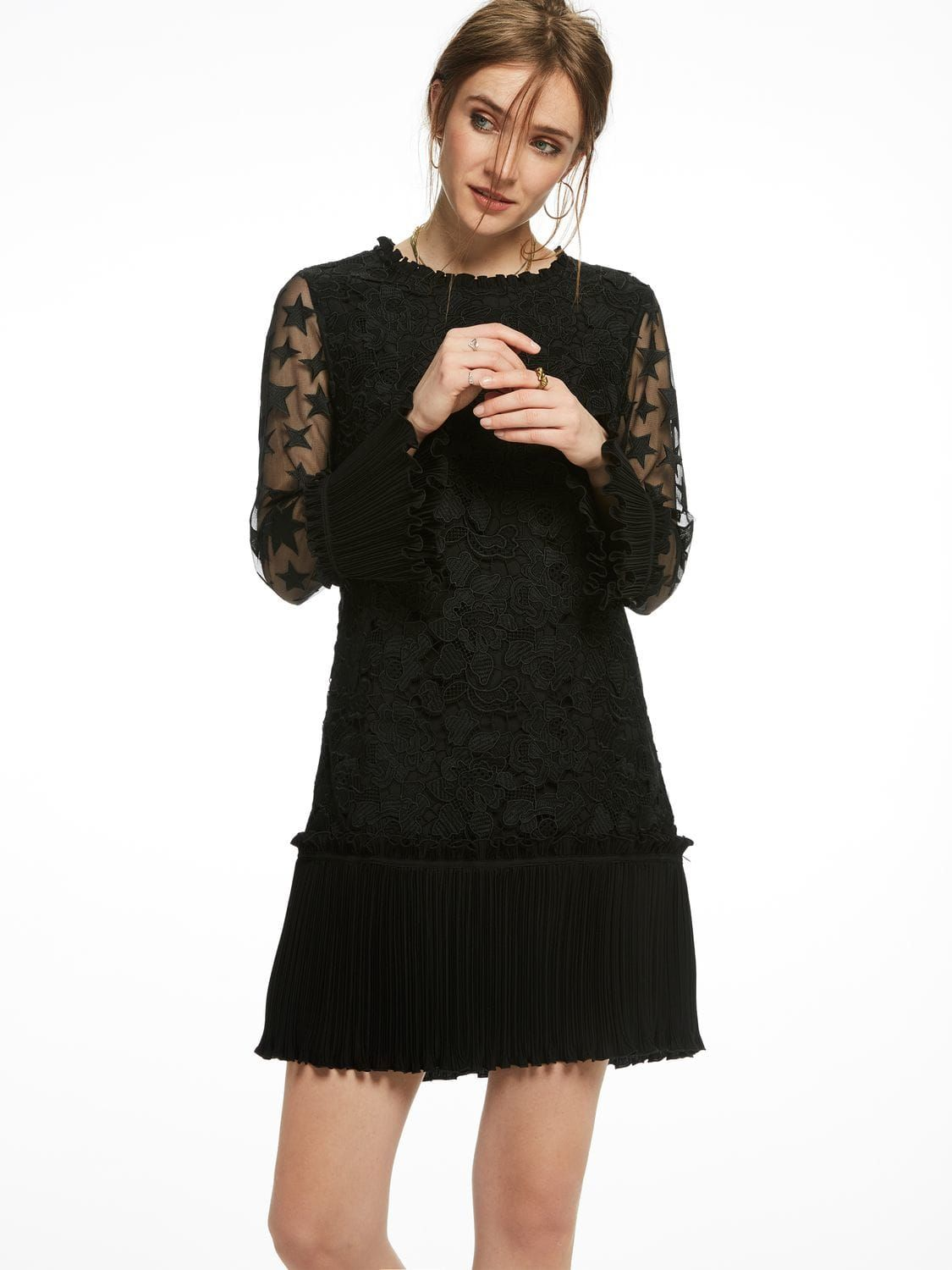 3326641c3d98 Star Mesh Lace Party Dress - by Scotch & Soda | Fashion | Lace party ...