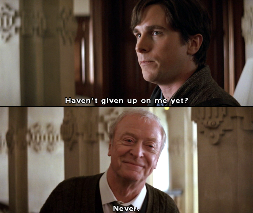 Image result for still haven't given up on me alfred gif