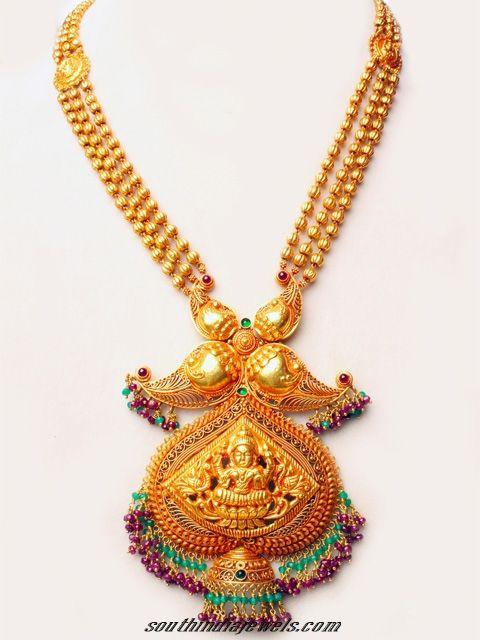 Antique Gold Temple Jewellery Necklace Set South India Jewels Gold Temple Jewellery Gold Jewelry Fashion Gold Jewelry Simple Necklace