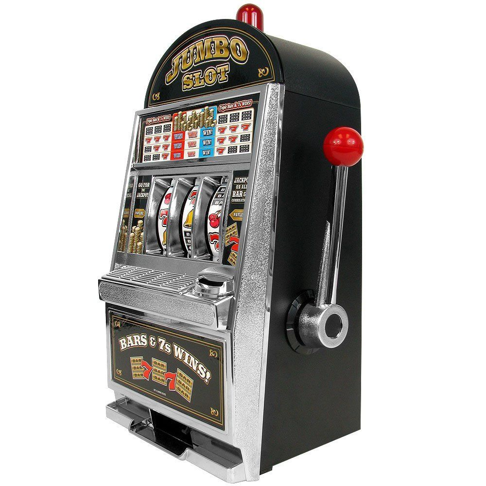 Пин на доске Toy Slot Machine Banks