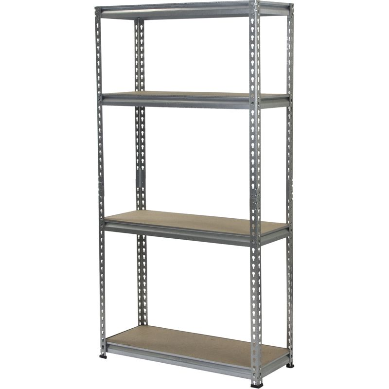 Under Stairs Shelving Unit for under the stairs $34. shelving unit 4shelf romak 1570x810x305