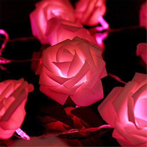 KINGSO 20 LED Battery Operated Rose Flower String Lights Wedding Garden Christmas Decor (Pink)  http://www.fivedollarmarket.com/kingso-20-led-battery-operated-rose-flower-string-lights-wedding-garden-christmas-decor-pink/