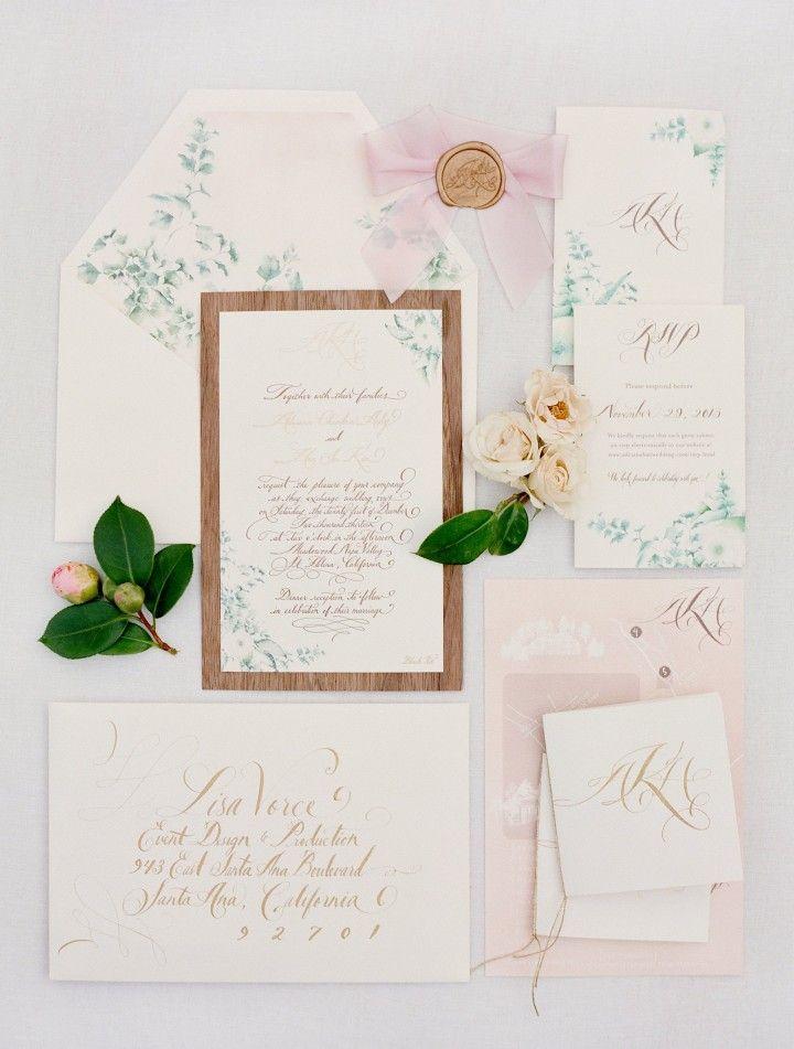 The Perfect California Wedding At Meadowood Modwedding Buy Wedding Invitations Wedding Invitations Stationery Wedding Stationery
