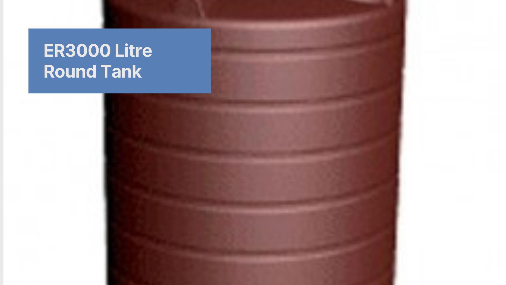 Er3000 Litre Round Tank In 2020 Tank Round Liter