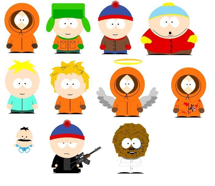 South Park Figuren