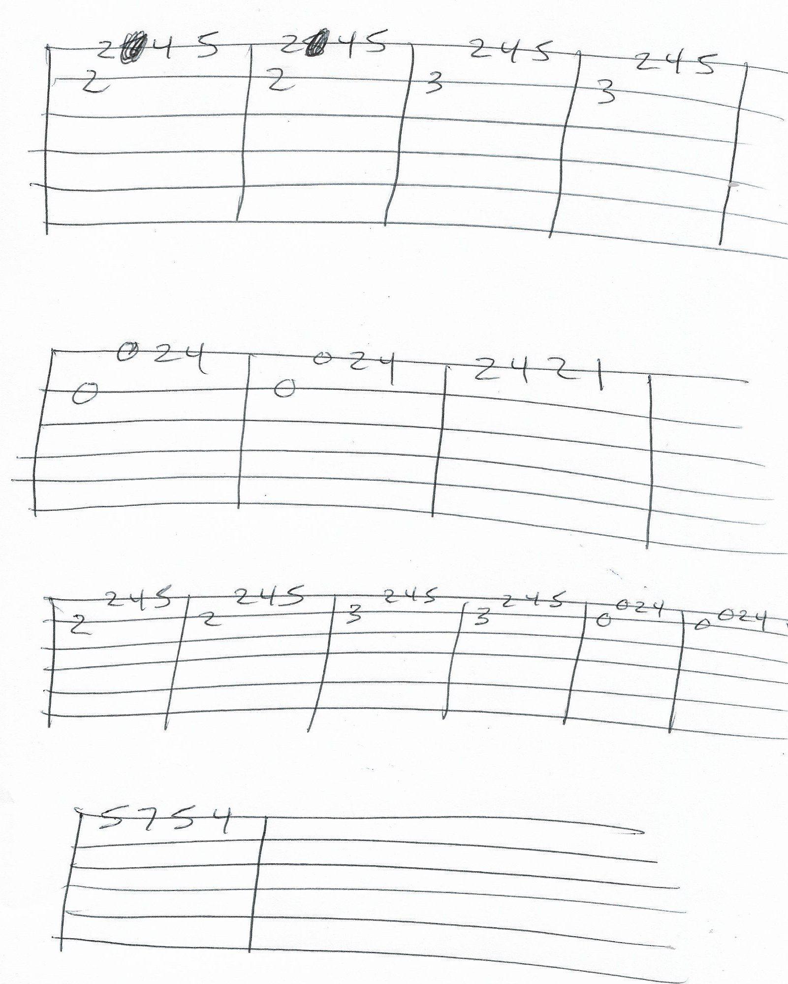 Gerudo Valley Zelda Guitar Melody Tab Guitar Scales Guitar