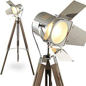 mojoliving L37 Mojo Lampadaire design style ancien type projecteur